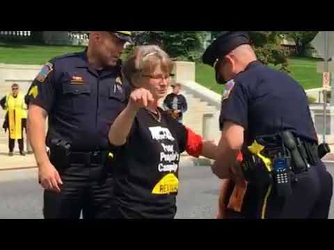 13 arrested in Poor People's Campaign protest against outside Pa. Capitol