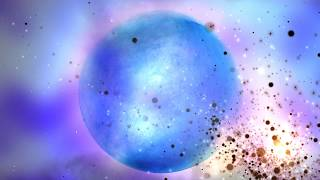 ❂ Epic 4k Moving Background ❂ For Lyric Videos  ❂ 4k Blue Moon Particles Fantasy