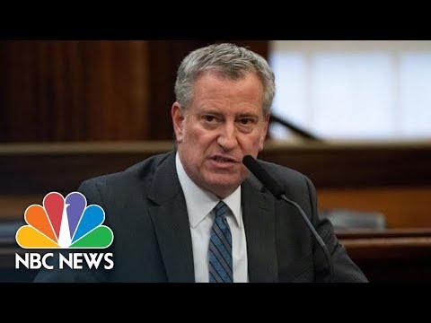 Live: NYC Mayor