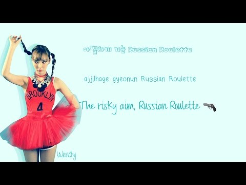 Red Velvet (레드벨벳) Russian Roulette Lyrics (Han|Rom|Eng) Color Coded