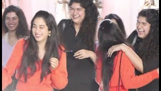 Janhvi Kapoor Cute Moments With Sister Anshula Kapoor And Khushi Kapoor