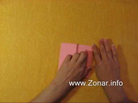 Оригами - Говорящая лиса