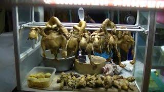 Jakarta Street Food 711 Fried Pigeon Bird Burung Dara Goreng Ibu Haji Wiwit BR TiVi 5197