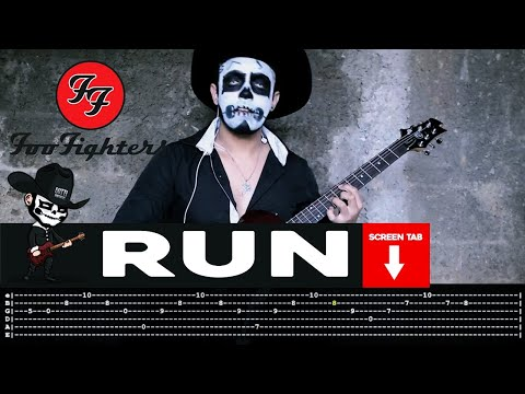 Foo Fighters - Run (Guitar Cover by Masuka W/Tab)