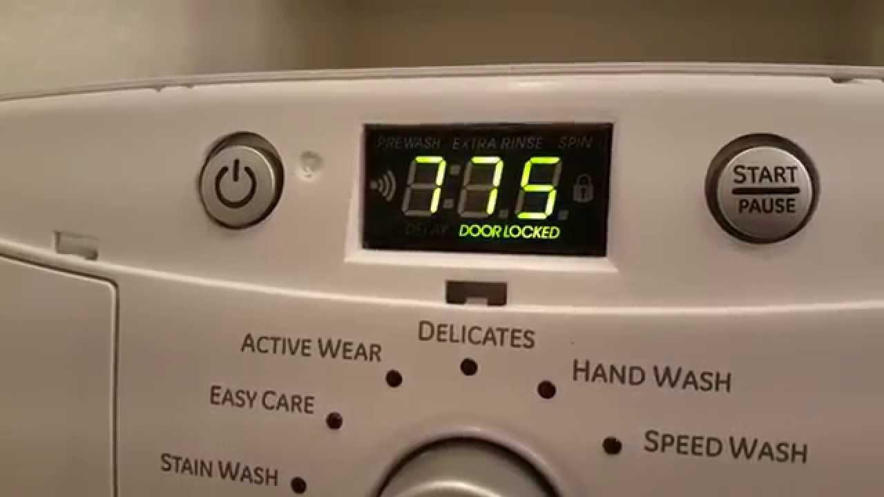 Ge Front Loader Washer Test T11 Youtube
