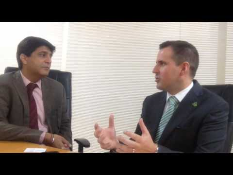 Ajay Davessar,  Head of Corporate Comms, HCL in conversation with Martin Shanahan, CEO IDA Ireland