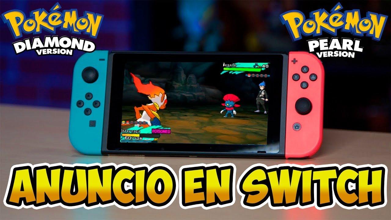Nuevo Juego De Pokemon En Switch 2018 Pokemon Ultradiamante Y