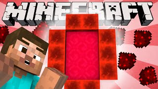 If a Redstone Dimension was Added - Minecraft