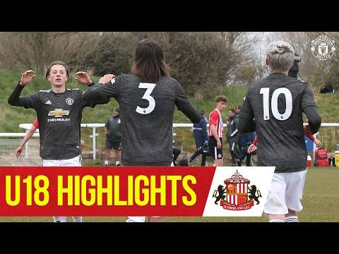 U18 Highlights | Sunderland 1-4 Manchester United | The Academy