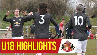 U18 Highlights   Sunderland 1-4 Manchester United   The Academy