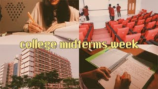 college midterms week in my life (ง •̀_•́)ง