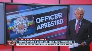 Denver Police officer charged with child porn possession