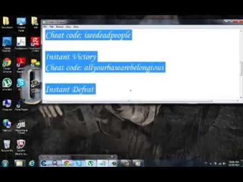 Warcraft 3 Cheat Codes - YT