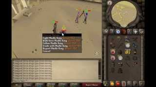Rebuilding is too easy, 1 Pray Armor/Mage staking 999134thpure OSRS video 11