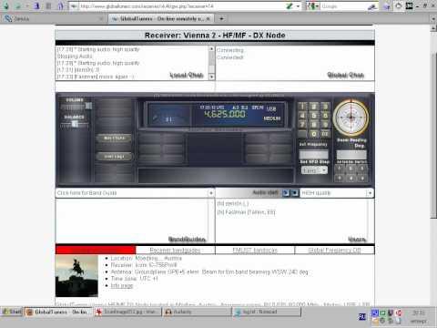 """Swan Lake"" on 4625 kHz (02.09.2010)"