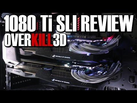 Asus Strix GTX1080 Ti SLI Review