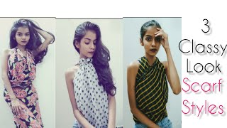 Gambar cover Scarf Styles|No sew|Top styling with Scarf|classy look|vedikajaokar