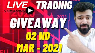 02nd March Live Intŗaday Trading Bank Nifty Option Chain Analysis #live #livetrading #banknifty