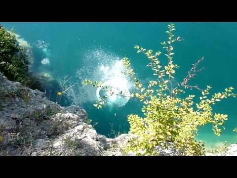 Cliff Diving at Zakrzowek Dave McKay