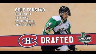 2018 NHL Entry Draft - Cole Fonstad Highlights