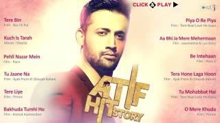 Atif Hit Story   Audio Jukebox   Best Atif Aslam Songs Non Stop   YouTube 360p
