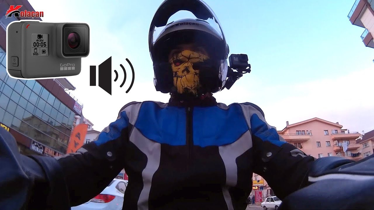 GoPro Hero 5 Black Quick Capture Ses Kaydı Sorunu | Kamera Test | Motovlog