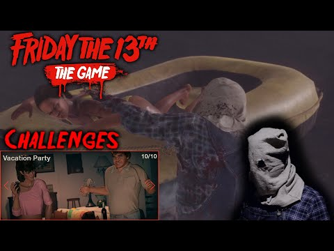 Friday The 13th The Game - Gameplay 2.0 - Challenge 10 - Jason Part 2