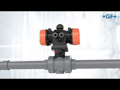 Ball Valve 546 Pro: Flexible Actuation - GF Piping Systems – English