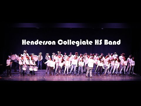 Henderson Collegiate High School Band - BHM Performance