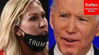 'Joe Biden Could Be Guilty Of Treason': Marjorie Taylor Greene Discusses Articles Of Impeachment