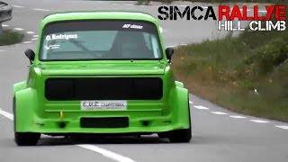 Simca 1000 Rallye - Historic rally car Sound