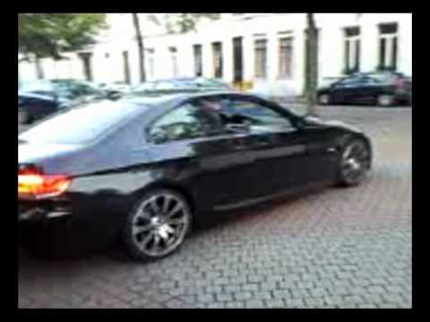 bmw coup 320d pack m sportdesign e92 youtube. Black Bedroom Furniture Sets. Home Design Ideas