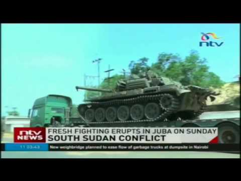 Fresh fighting erupts in South Sudan's capital Juba