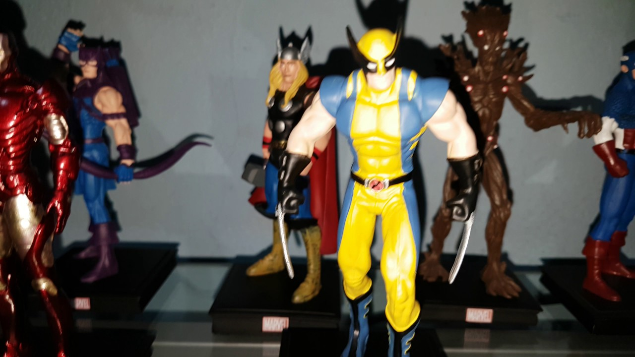 Colecci n panini de figuras marvel youtube for Coleccion bustos marvel