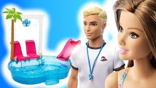 Barbie  Basen Niespodzianka od Kena ♂️ bajka po polsku