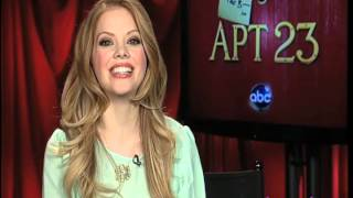 Dreama Walker, Don't Trust the B---- in Apartment 23 - Red Carpet Report Interview