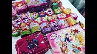 Мои Шкатулки Винкс Вещи Винкс Обзор Игрушки Для Детей Коллекция