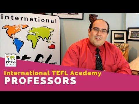 International TEFL Academy Professors - Sam