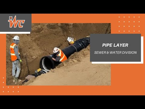 PIPE LAYER – SEWER/WATER