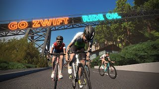 KISS Super League - Round 2 - Zwift Racing
