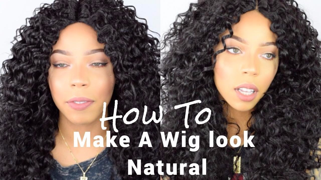 How To Make A Cheap Wig Look Natural Curly Hair Under 30 Youtube