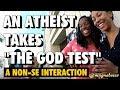 An Atheist Takes -The God Test-