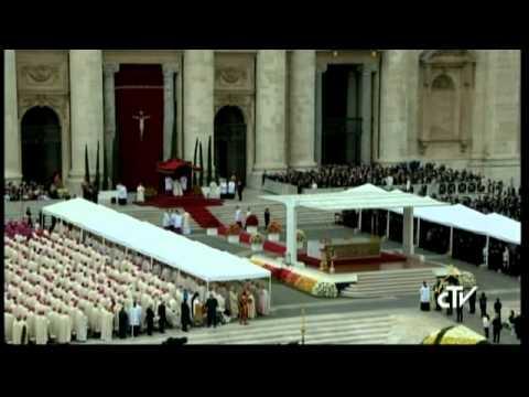 Canonization of Pope John Paul II and Pope John XXIII - April 27, 2014