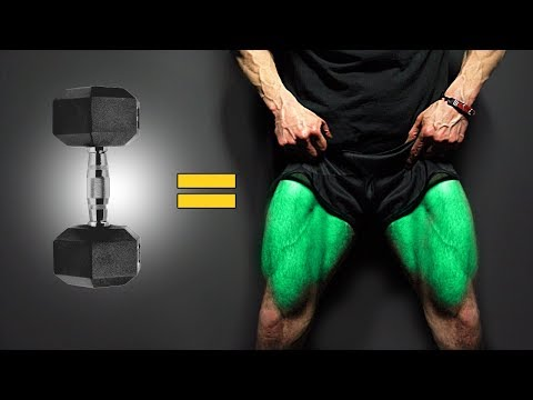 The BEST Dumbbell Exercises LEGS EDITION!