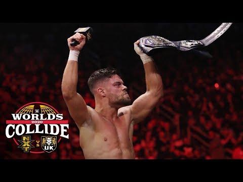 NXT Cruiserweight Champion Jordan Devlin calls himself the best: WWE Worlds Collide, Jan. 25, 2020