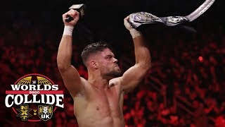 NXT Cruiserweight Champion Jordan Devlin calls himself the best: WWE Worlds Collide, Jan. 25, 2020