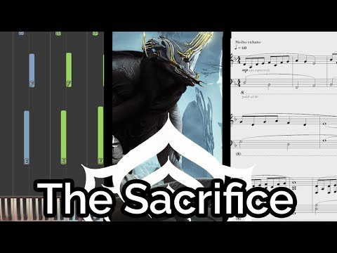 Smiles from Juran/'To Take Away Its Pain' - Warframe (The Sacrifice OST) (Piano Cover & Synthesia)