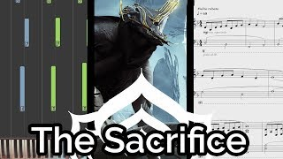 'To Take Away Its Pain'/Smiles from Juran - Warframe (The Sacrifice OST) (Piano Cover & Synthesia)