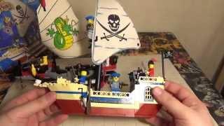 как из лего сделать пиратский катер