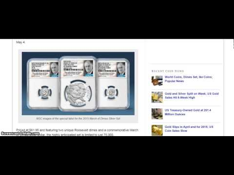 ALERT: March of Dimes Set May 4, at 9:00 Pacific Time (stacking unboxing bullion)